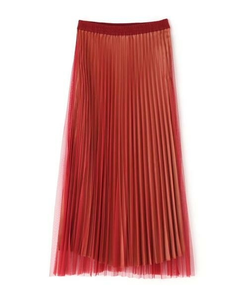 ROSE BUD / ローズ バッド スカート | チュールプリーツスカート | 詳細7