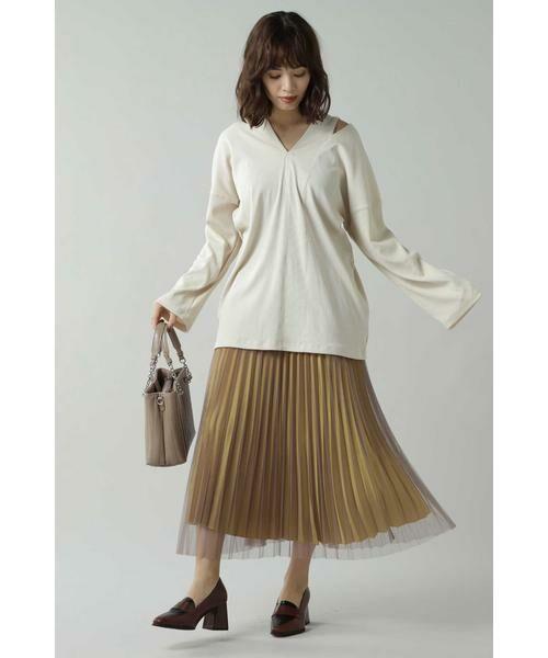 ROSE BUD / ローズ バッド スカート | チュールプリーツスカート | 詳細11