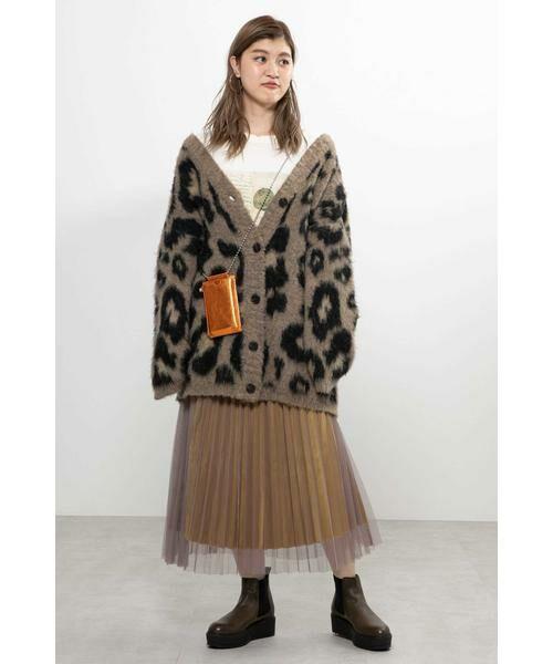 ROSE BUD / ローズ バッド スカート | チュールプリーツスカート | 詳細14