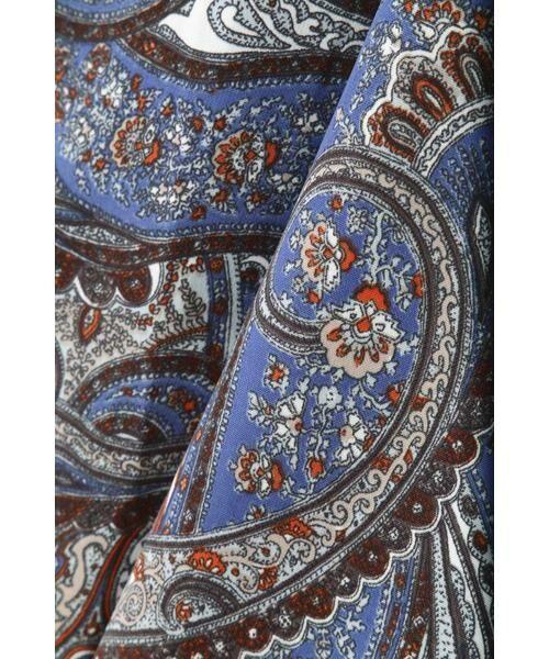 ROSE BUD / ローズ バッド スカート | ペイズリープリントマキシスカート | 詳細11