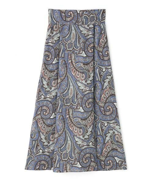 ROSE BUD / ローズ バッド スカート | ペイズリープリントマキシスカート | 詳細9