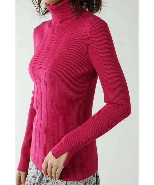 ROSE BUD / ローズ バッド ニット・セーター | リブタートルニット | 詳細6