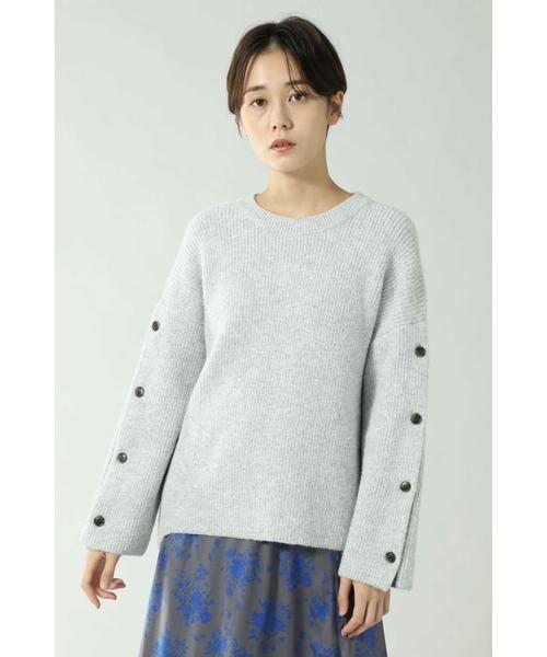ROSE BUD / ローズ バッド ニット・セーター | マフラー付きニットトップス | 詳細2