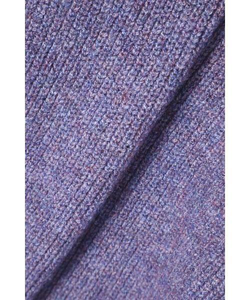 ROSE BUD / ローズ バッド ニット・セーター | マフラー付きニットトップス | 詳細6