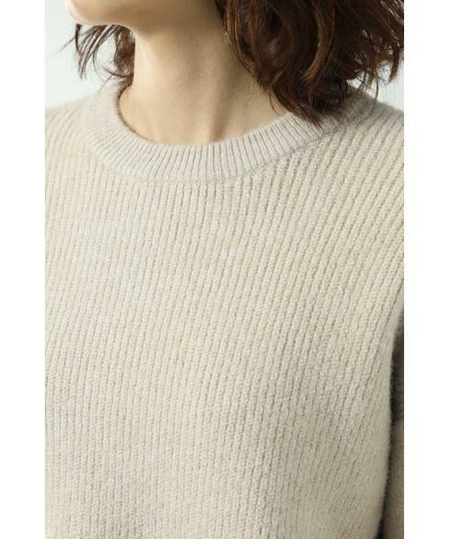 ROSE BUD / ローズ バッド ニット・セーター | マフラー付きニットトップス | 詳細13