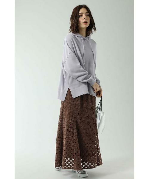 ROSE BUD / ローズ バッド スカート | 透かしナロースカート | 詳細1
