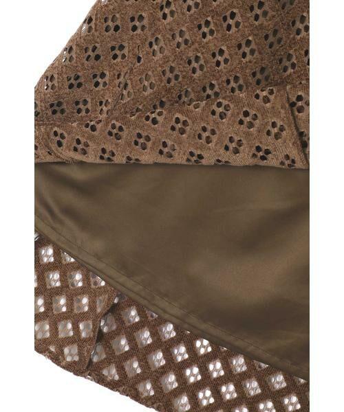ROSE BUD / ローズ バッド スカート | 透かしナロースカート | 詳細2