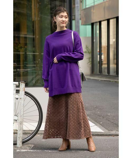 ROSE BUD / ローズ バッド スカート | 透かしナロースカート | 詳細4
