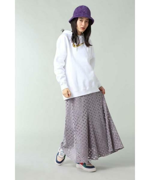 ROSE BUD / ローズ バッド スカート | 透かしナロースカート | 詳細5