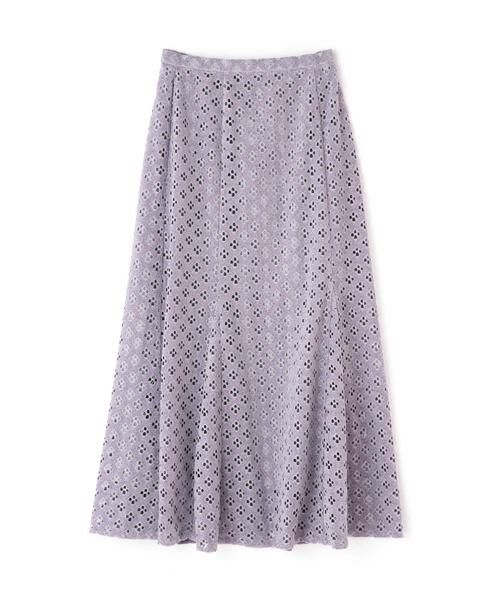 ROSE BUD / ローズ バッド スカート | 透かしナロースカート | 詳細6
