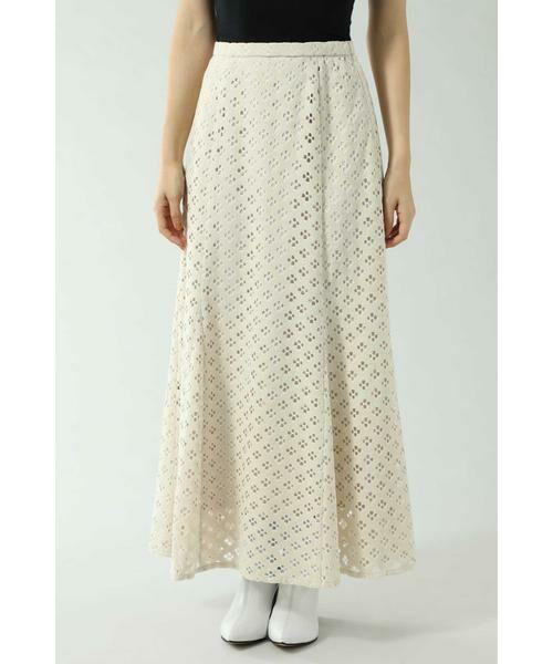 ROSE BUD / ローズ バッド スカート | 透かしナロースカート | 詳細9
