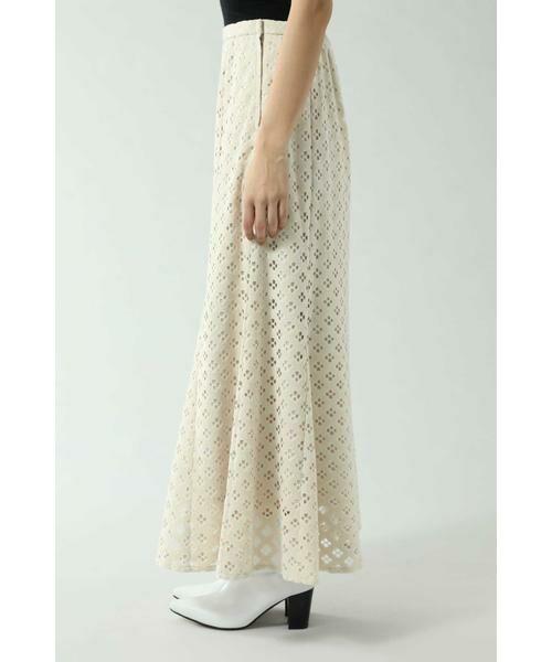 ROSE BUD / ローズ バッド スカート | 透かしナロースカート | 詳細10