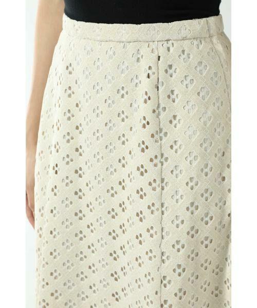 ROSE BUD / ローズ バッド スカート | 透かしナロースカート | 詳細12