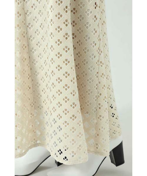 ROSE BUD / ローズ バッド スカート | 透かしナロースカート | 詳細14