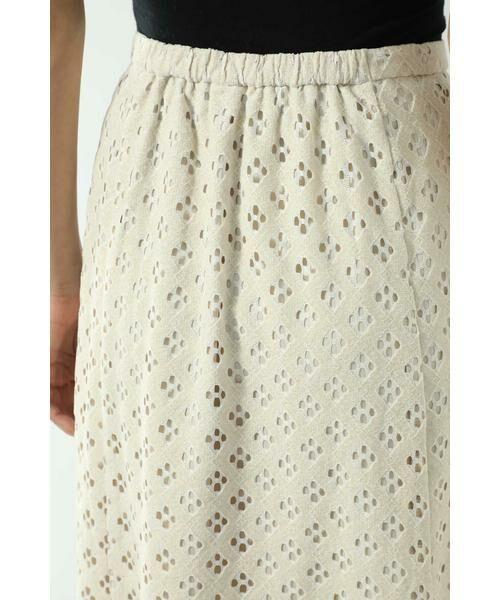 ROSE BUD / ローズ バッド スカート | 透かしナロースカート | 詳細15