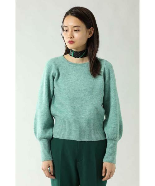 ROSE BUD / ローズ バッド ニット・セーター | スカーフ付きクルーネックニット | 詳細10
