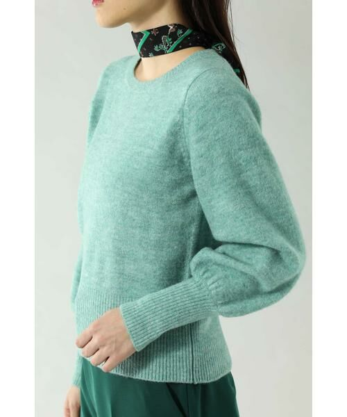 ROSE BUD / ローズ バッド ニット・セーター | スカーフ付きクルーネックニット | 詳細14