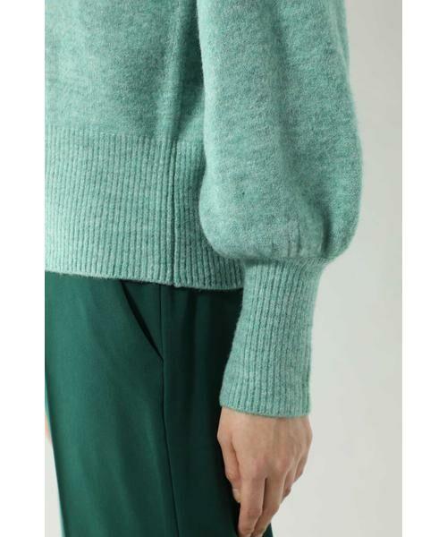 ROSE BUD / ローズ バッド ニット・セーター | スカーフ付きクルーネックニット | 詳細15
