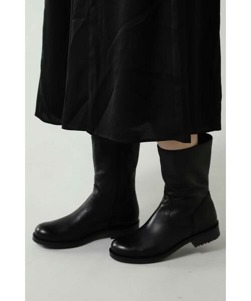 ROSE BUD / ローズ バッド ブーツ(ショート丈) | ミドル丈レザーブーツ | 詳細1
