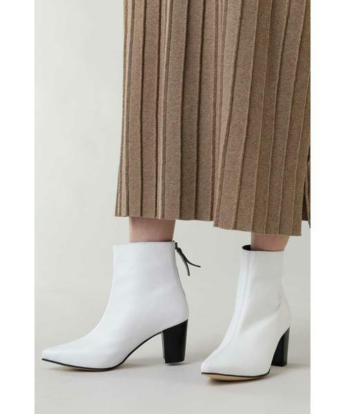 ROSE BUD / ローズ バッド ブーツ(ショート丈) | Pointed Bi Color Boots | 詳細2