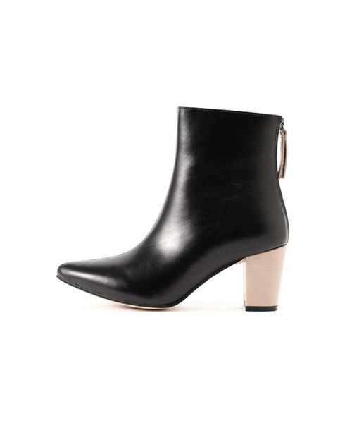 ROSE BUD / ローズ バッド ブーツ(ショート丈) | Pointed Bi Color Boots | 詳細9