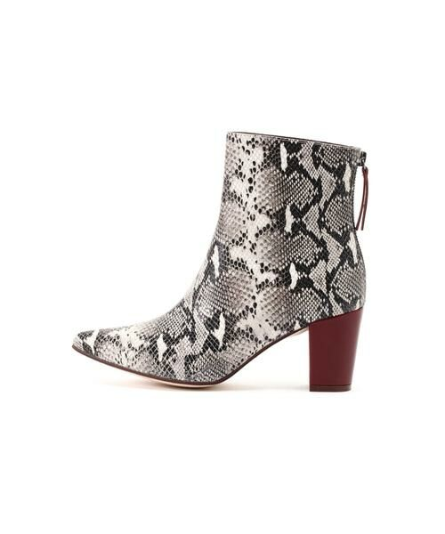 ROSE BUD / ローズ バッド ブーツ(ショート丈) | Pointed Bi Color Boots | 詳細11