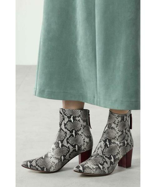 ROSE BUD / ローズ バッド ブーツ(ショート丈) | Pointed Bi Color Boots | 詳細12