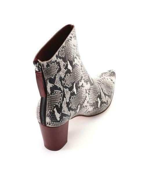 ROSE BUD / ローズ バッド ブーツ(ショート丈) | Pointed Bi Color Boots | 詳細16
