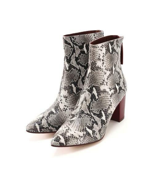ROSE BUD / ローズ バッド ブーツ(ショート丈) | Pointed Bi Color Boots | 詳細18