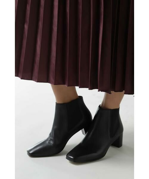 ROSE BUD / ローズ バッド ブーツ(ショート丈) | スクエアトゥサイドゴアブーツ | 詳細1