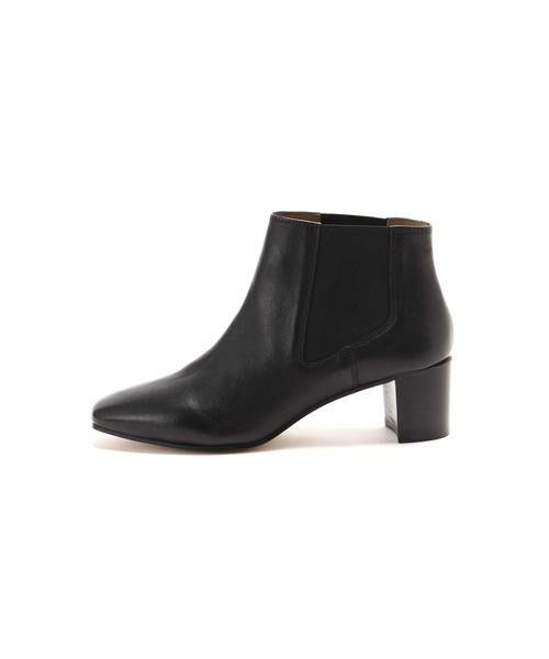 ROSE BUD / ローズ バッド ブーツ(ショート丈) | スクエアトゥサイドゴアブーツ(ブラック)