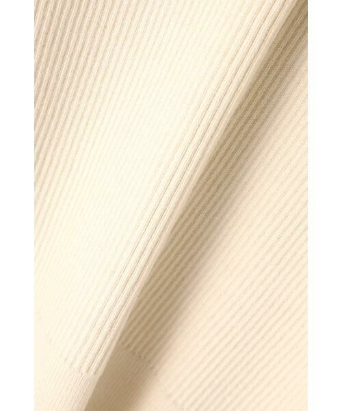 ROSE BUD / ローズ バッド ニット・セーター | レース切り替えリブニット | 詳細13
