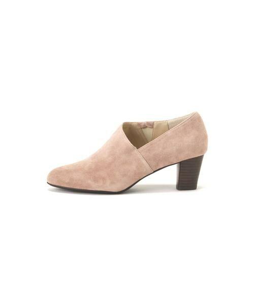 ROSE BUD / ローズ バッド ブーツ(ショート丈) | デザインカットブーティー(ピンク)
