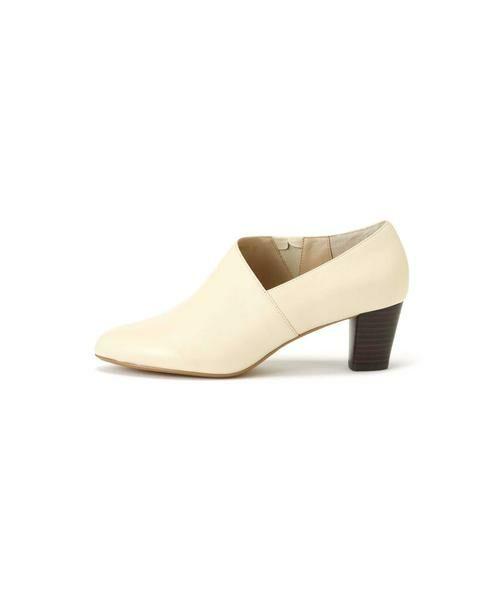 ROSE BUD / ローズ バッド ブーツ(ショート丈) | デザインカットブーティー(ホワイト)