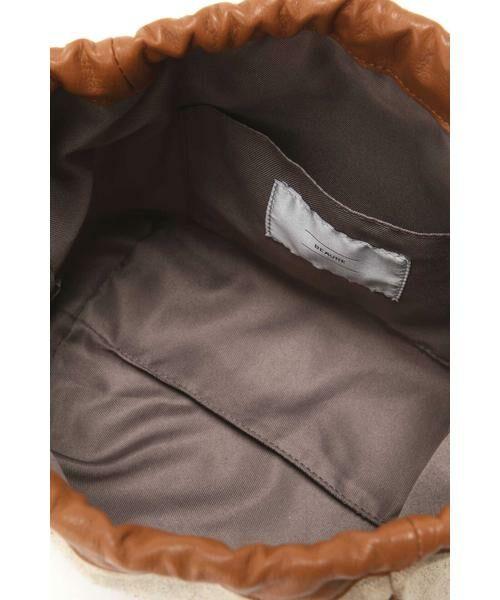 ROSE BUD / ローズ バッド ショルダーバッグ | 異素材コンビショルダーバッグ | 詳細7