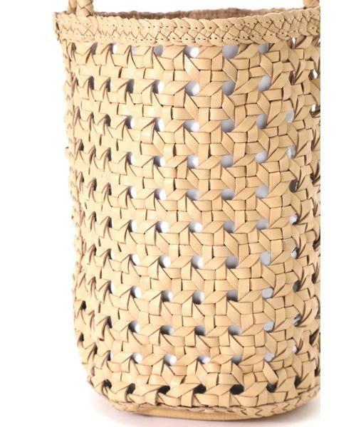 ROSE BUD / ローズ バッド ショルダーバッグ | 透かし編みバケツバッグ | 詳細4