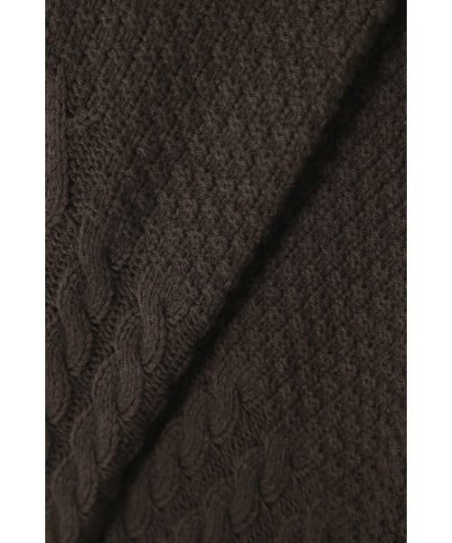 ROSE BUD / ローズ バッド ニット・セーター | ケーブルニットベスト | 詳細14