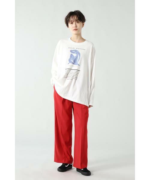 ROSE BUD / ローズ バッド パンツ | タックボリュームパンツ | 詳細6