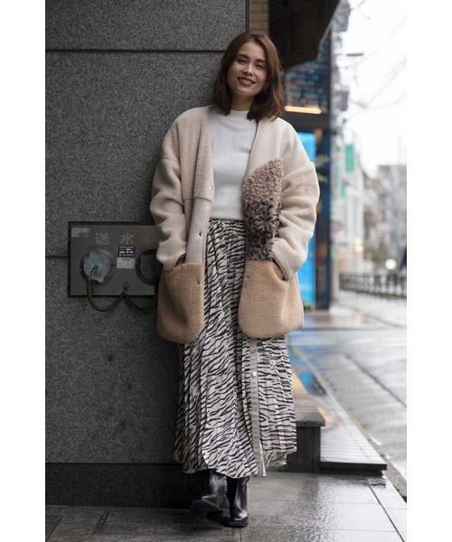 ROSE BUD / ローズ バッド スカート | アニマルプリーツスカート | 詳細21