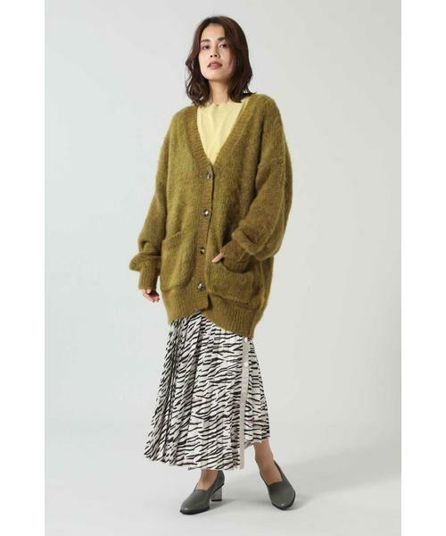 ROSE BUD / ローズ バッド スカート | アニマルプリーツスカート | 詳細8