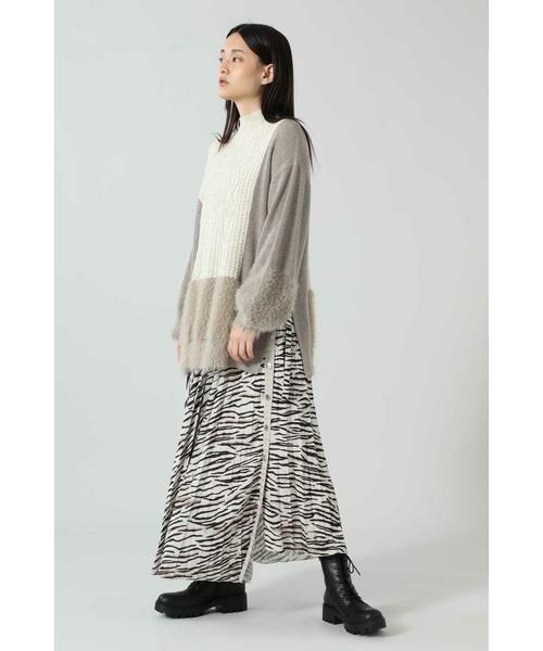 ROSE BUD / ローズ バッド スカート | アニマルプリーツスカート | 詳細10