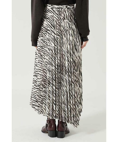ROSE BUD / ローズ バッド スカート | アニマルプリーツスカート | 詳細13