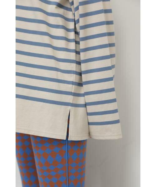 ROSE BUD / ローズ バッド カットソー | ナバルボーダーロングTシャツ | 詳細8