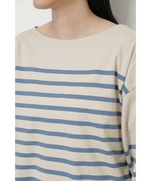 ROSE BUD / ローズ バッド カットソー | ナバルボーダーロングTシャツ | 詳細6