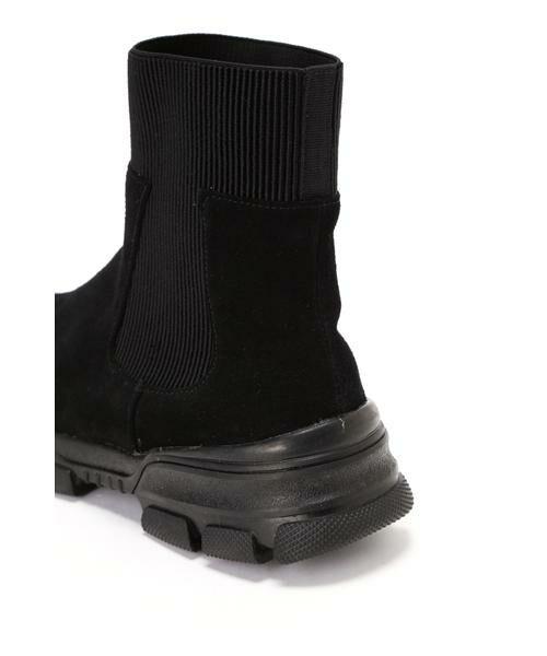 ROSE BUD / ローズ バッド ブーツ(ショート丈) | トラックソールブーツ | 詳細4