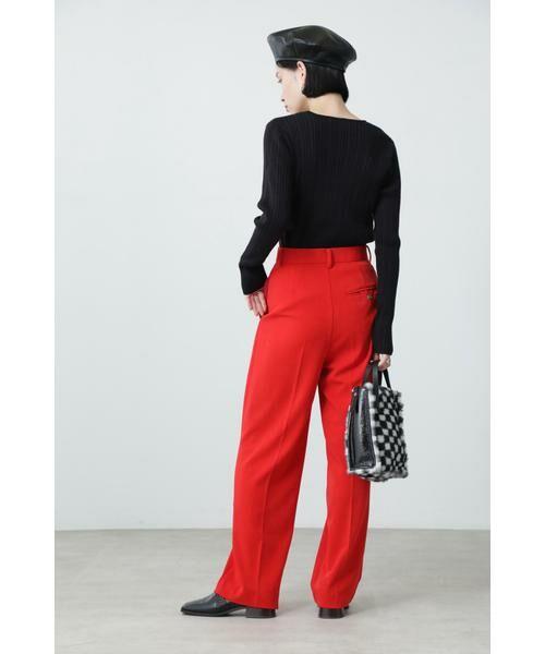 ROSE BUD / ローズ バッド パンツ | ストレートパンツ | 詳細3