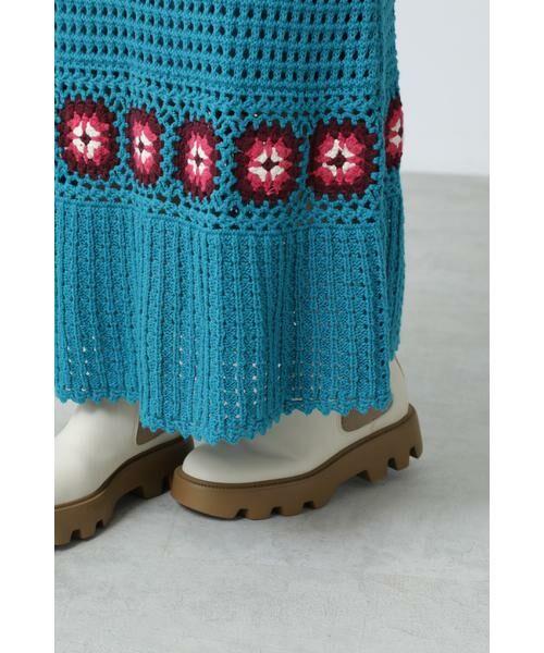 ROSE BUD / ローズ バッド スカート | クロシェスカート | 詳細8