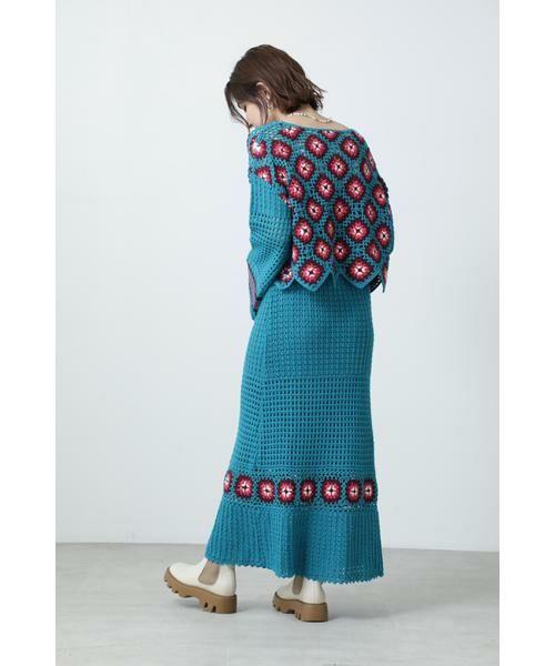 ROSE BUD / ローズ バッド スカート | クロシェスカート | 詳細2