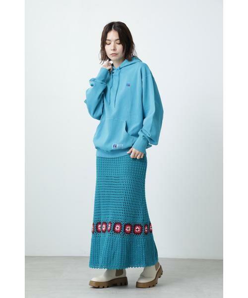 ROSE BUD / ローズ バッド スカート | クロシェスカート | 詳細3