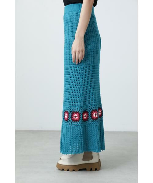 ROSE BUD / ローズ バッド スカート | クロシェスカート | 詳細5